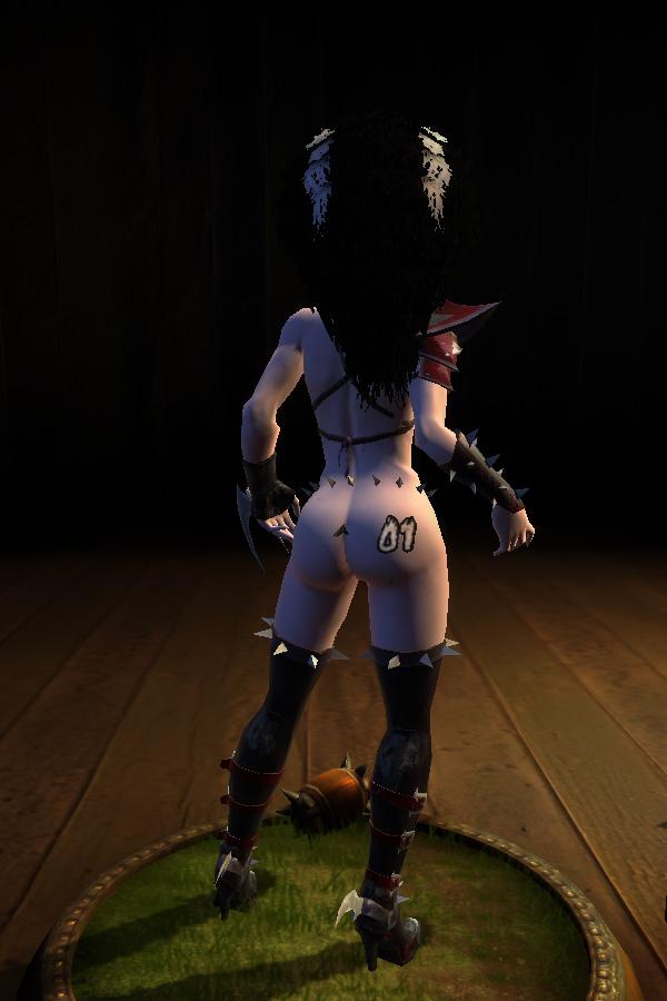 Darkelf fantasy cosplay babe titfucks a cock necessary words