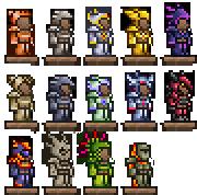 Pre-Hardmode Armors