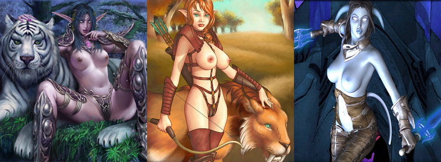 World of Warcraft NUDE PATCH part 2 (BIG UPDATE)